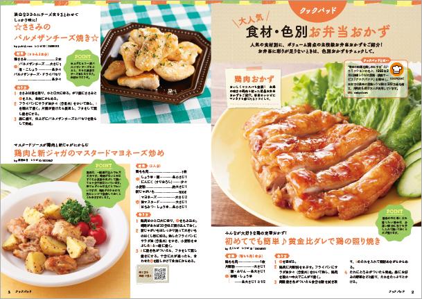 大好評のお弁当レシピ ベストセレクション