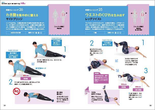 体幹を鍛える 最強のトレーニングBEST50