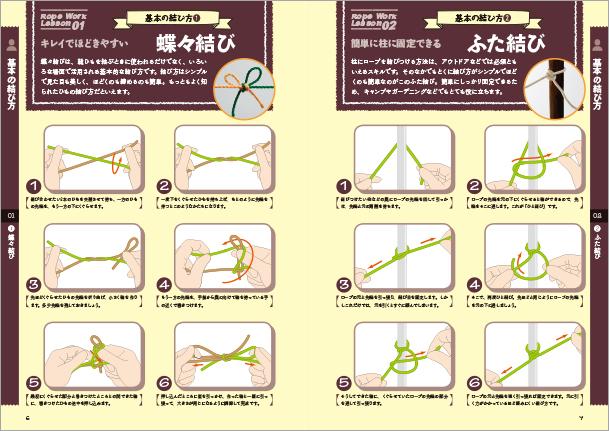 毎日が便利になる ひもとロープの結び方練習帖