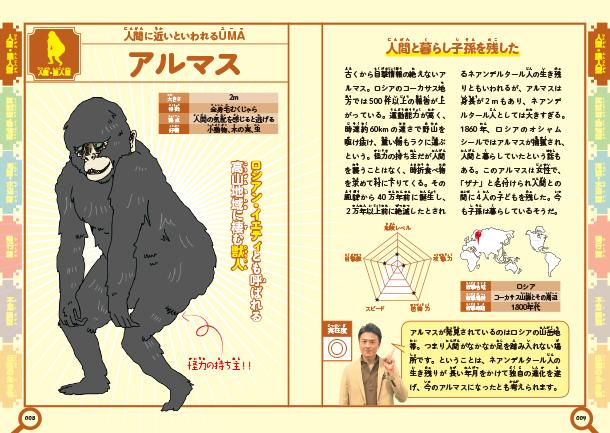 ミステリーチェイサー原田龍二の謎のいきものUMA大図鑑