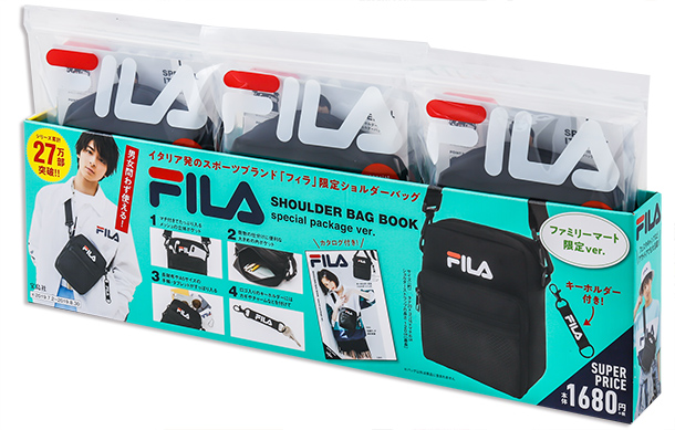 FILA SHOULDER BAG BOOK special package ver.