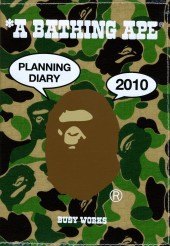 *A BATHING APE(R) 手帳 2010