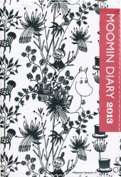 MOOMIN DIARY 2013 cover design by Bob Foundation