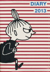 MOOMIN DIARY 2013 cover design by NIMES LITTLE MY×red border