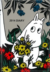MOOMIN DIARY 2014 LOVE! ムーミン design by marble SUD