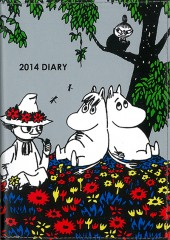 MOOMIN DIARY 2014 design by marble SUD
