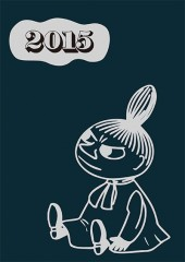 MOOMIN DIARY 2015 design by Bob Foundation