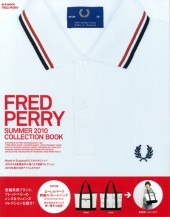 FRED PERRY SUMMER 2010 COLLECTION BOOK