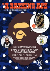 *A BATHING APE(R) 2015 SUMMER COLLECTION