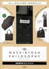 MACKINTOSH PHILOSOPHY 晴雨兼用傘BOX BOOK
