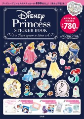 Disney Princess STICKER BOOK ―Once upon a time―