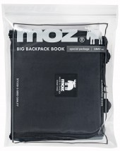 moz BIG BACKPACK BOOK special package GRAY ver.
