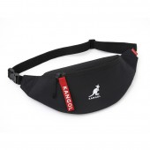 KANGOL WAIST POUCH BOOK RED