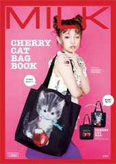 MILK CHERRY CAT BAG BOOK