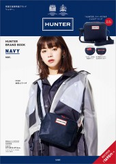 HUNTER BRAND BOOK NAVY ver.