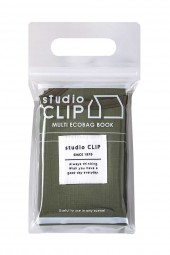 studio CLIP MULTI ECOBAG BOOK OLIVE ver. produced by Naoko Gencho