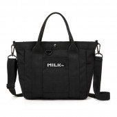 mini特別編集 MILKFED. SPECIAL BOOK 2Way Tote Bag #BLACK
