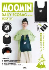 MOOMIN DAILY ECOBAG BOOK BLACK ver.