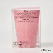 Disney ツイステッドワンダーランド CUP COFFEE TUMBLER BOOK PINK ver.