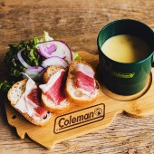 Coleman BRAND BOOK #04 CUTTING BOARD ver.