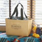 PENDLETON 保冷ができる BIG SHOPPING BAG BOOK BEIGE ver.