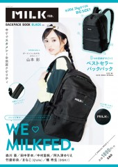MILKFED. BACKPACK BOOK BLACK ver.