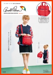 Arnold Palmer(TM) SHOULDER BAG BOOK -Red ver.-