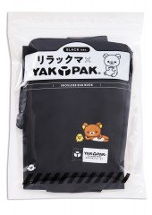リラックマ×YAK PAK(R) SHOULDER BAG BOOK BLACK ver.
