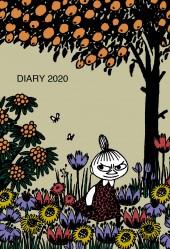 【ウィークリー】MOOMIN DIARY 2020 LITTLE MY Cover designed by marble SUD