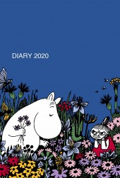 【マンスリー】 MOOMIN DIARY 2020 Cover designed by marble SUD