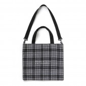 MACKINTOSH PHILOSOPHY 2WAY CHECK TOTE BOOK