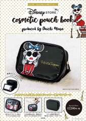 Disney STORE cosmetic pouch book produced by Daichi Miura