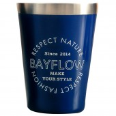 BAYFLOW LOGO TUMBLER BOOK NAVY